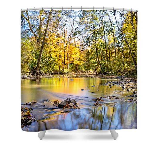 Fall In Wisconsin Shower Curtain