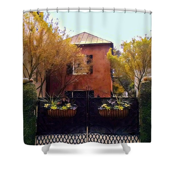 Fall Into Charleston Shower Curtain