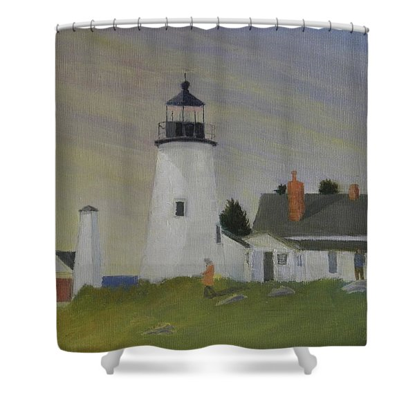 Fall Is Coming Shower Curtain