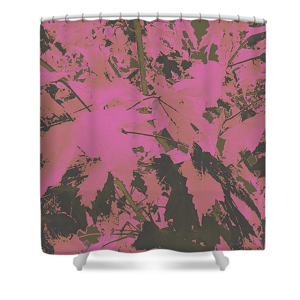 Fall Leaves #6 Shower Curtain
