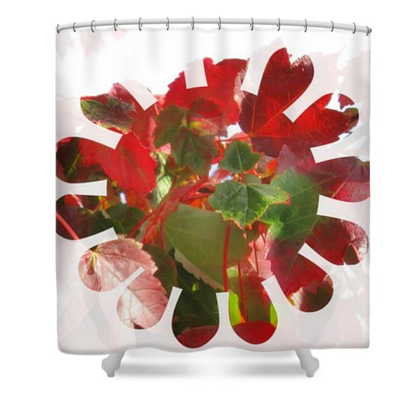 Fall Leaves #9 Shower Curtain