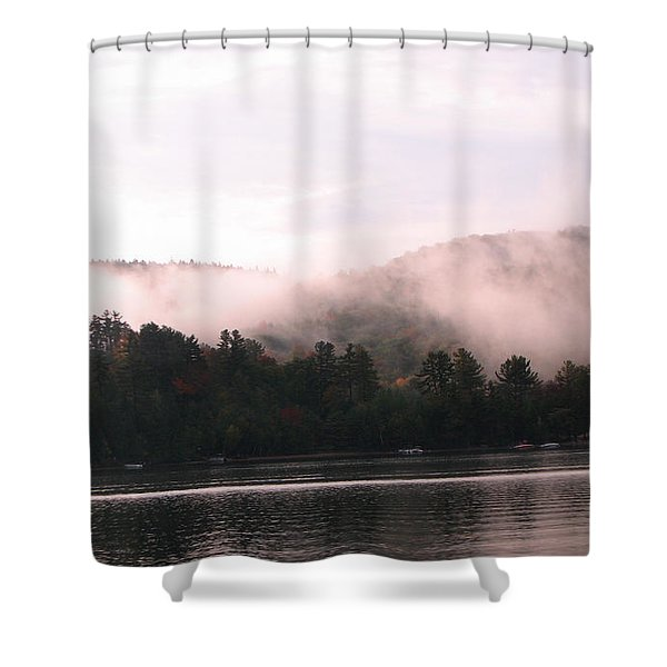 Fall Little Squam Shower Curtain