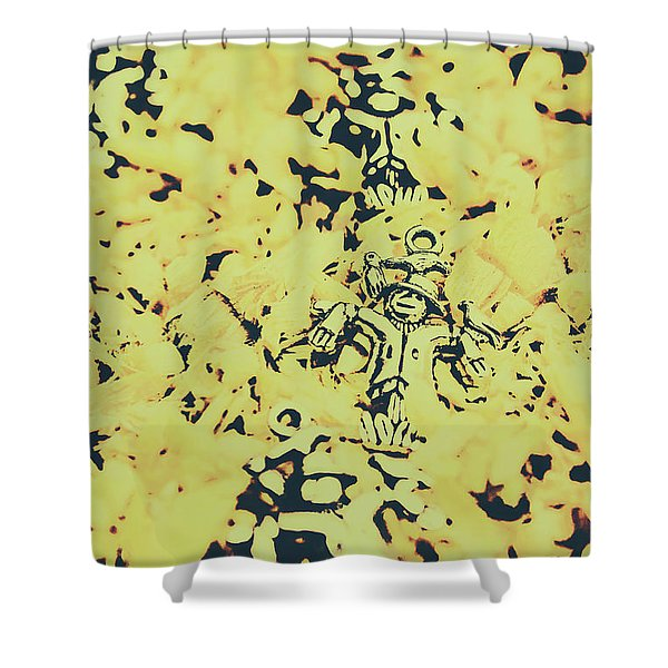Fall Of The Harvest Shower Curtain