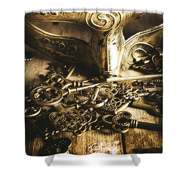 Fall Of The King Shower Curtain