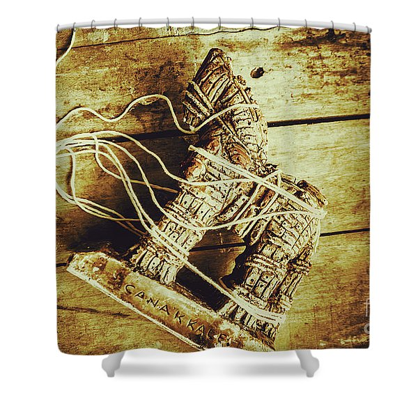 Fall Of Troy Shower Curtain