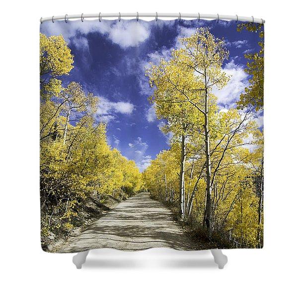 Fall On Boreas Pass Shower Curtain