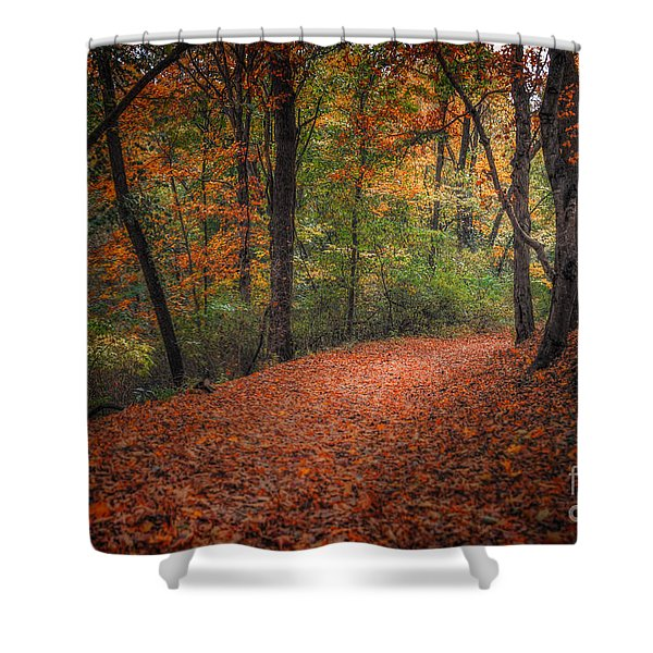 Fall Trail Shower Curtain