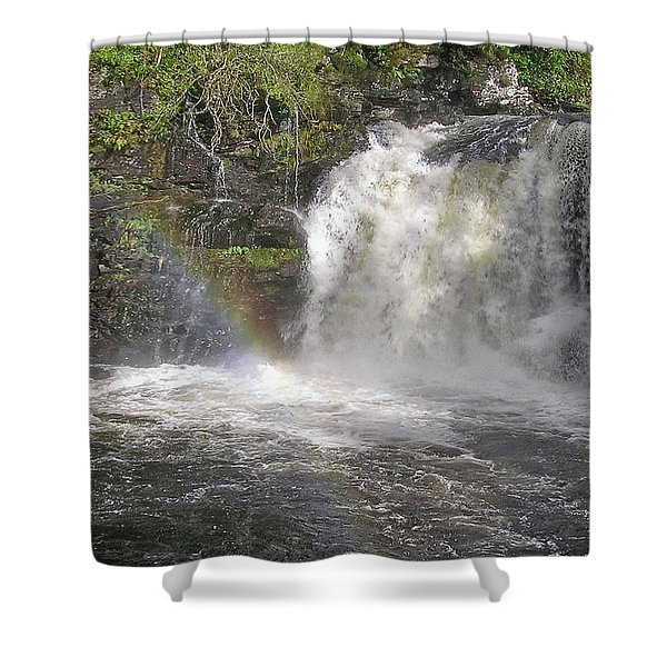Falloch Rainbow Shower Curtain