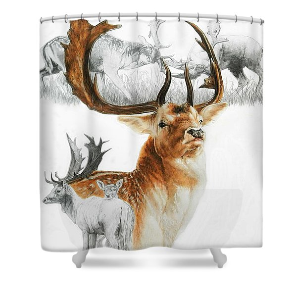Fallow Deer Shower Curtain