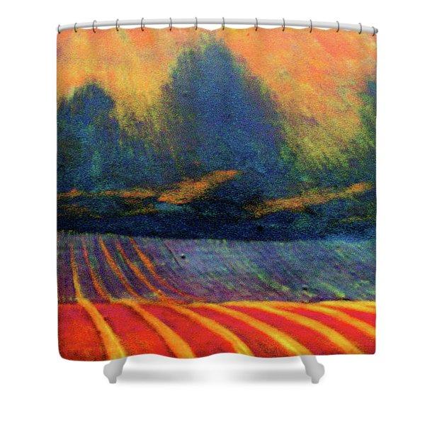 Fallow Field 2 Shower Curtain