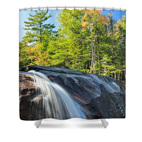 Falls Diana's Baths Nh Shower Curtain