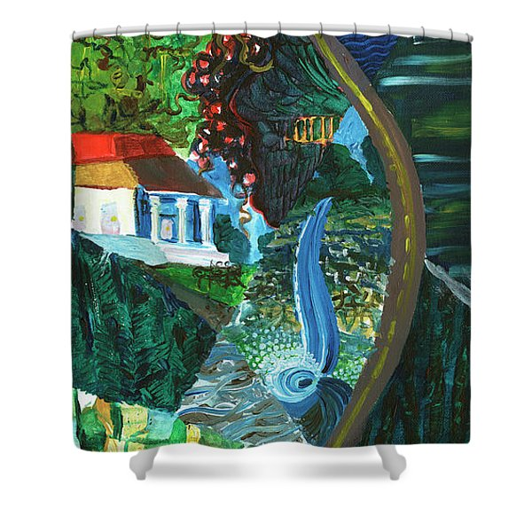 Falls, Fingers And Gorges Shower Curtain