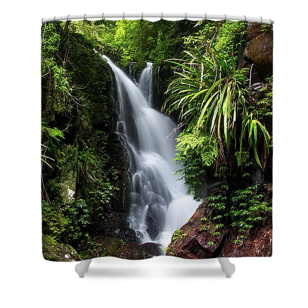 Falls Of Elabana  Shower Curtain