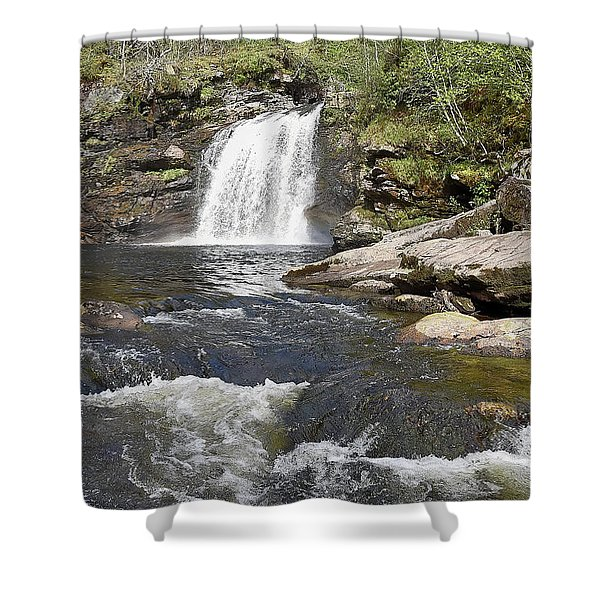 Falls Of Falloch Shower Curtain