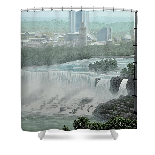 Falls View Shower Curtain