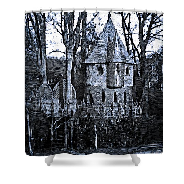 Fanciful Treehouse Shower Curtain
