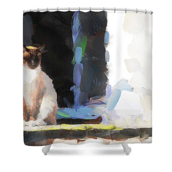 Fancy Free Shower Curtain