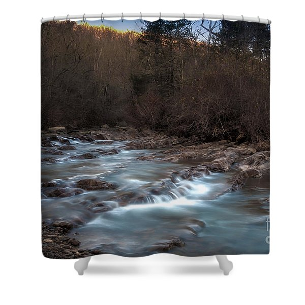 Fane Creek 2 Shower Curtain