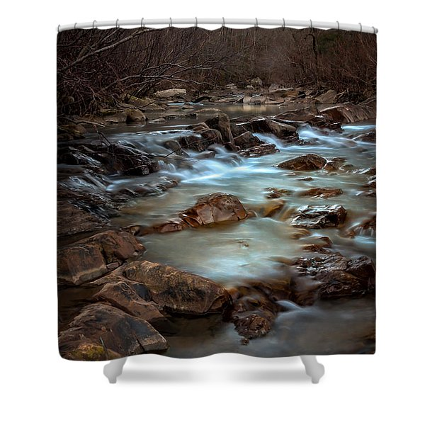 Fane Creek Shower Curtain