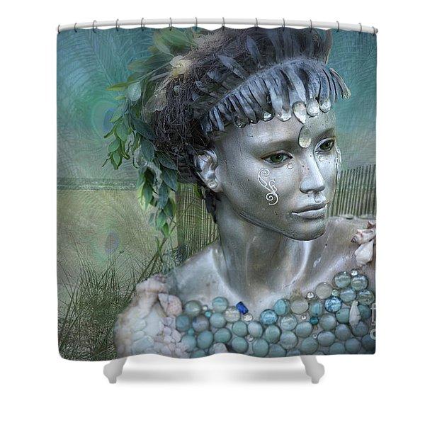 Mermaiden Fantasea Shower Curtain