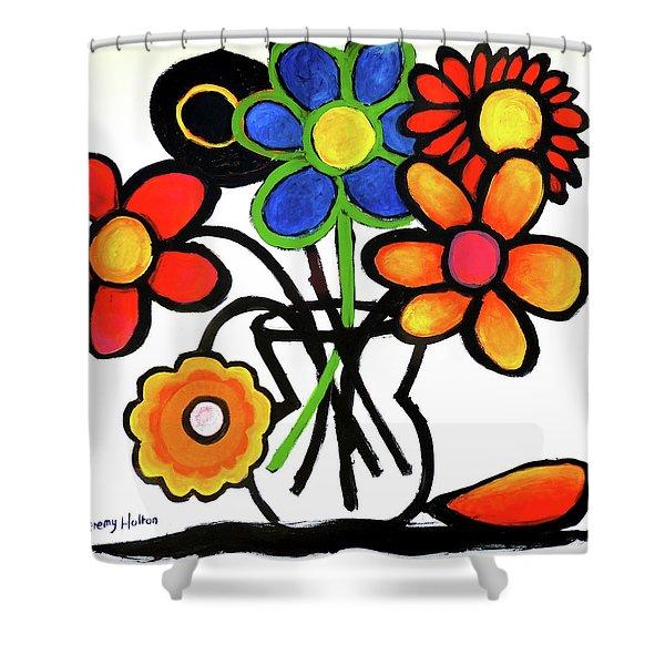 Fantastic Colour Shower Curtain