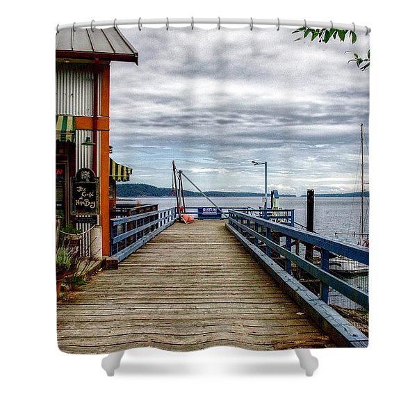 Fantasy Dock Shower Curtain