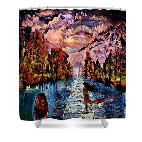 Fantasy Dream Shower Curtain