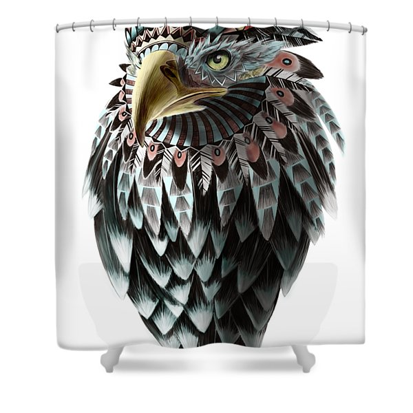 Fantasy Eagle Shower Curtain