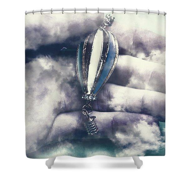 Fantasy Flights Shower Curtain