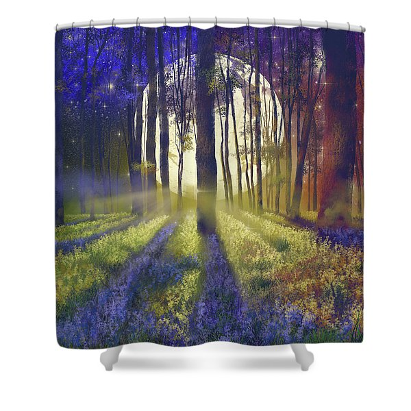 Fantasy Forest 4 Shower Curtain