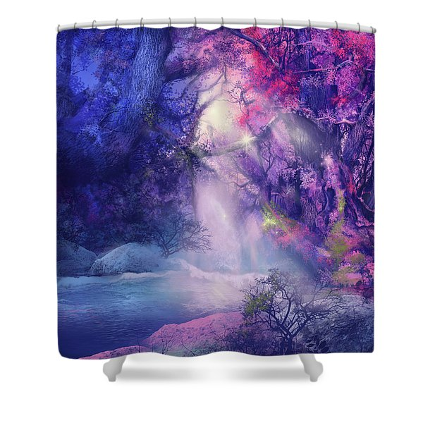 Fantasy Forest 5 Shower Curtain