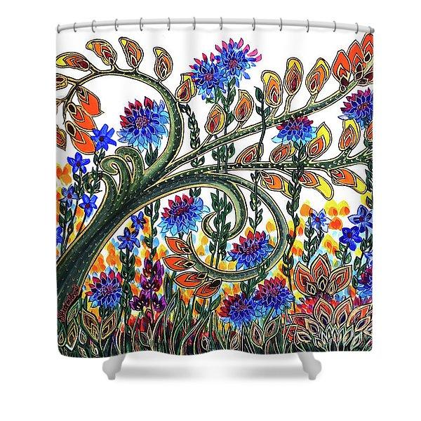 Fantasy Garden Shower Curtain