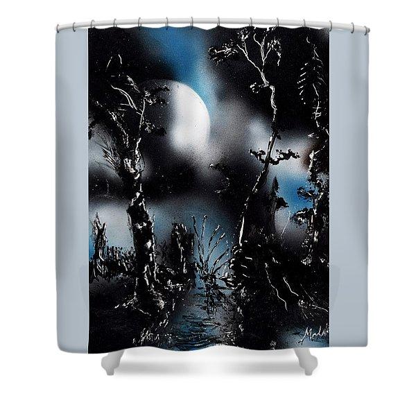 Fantasy Night Shower Curtain