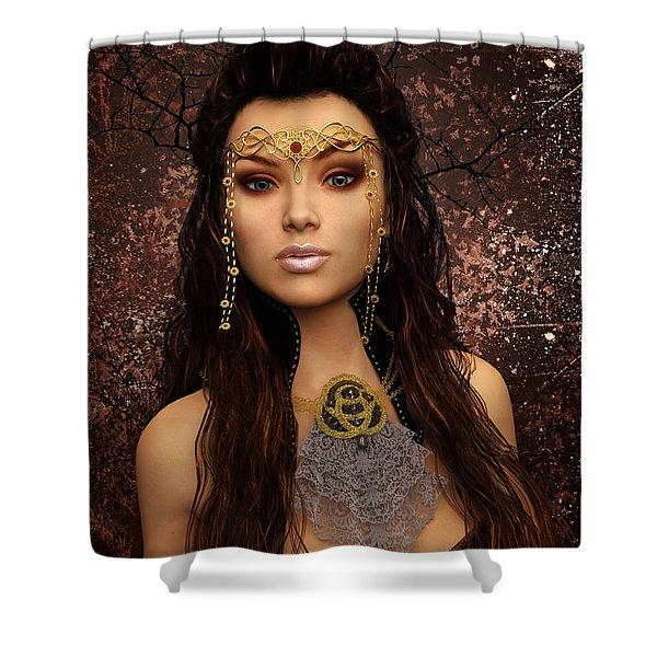 Fantasy Queen Shower Curtain