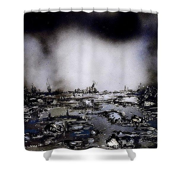 Fantasy Storm Shower Curtain