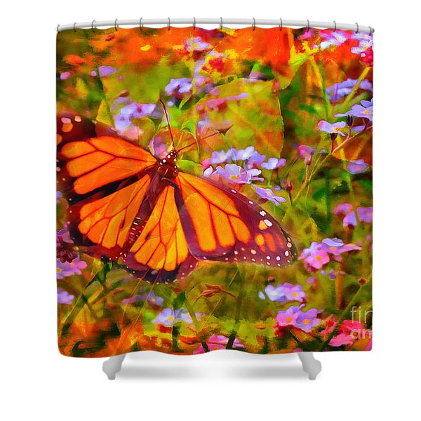 Farfalla 2015 Shower Curtain