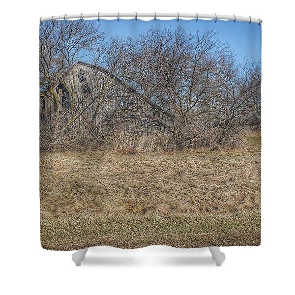 2303 - Fargo Road Forgotten Shower Curtain