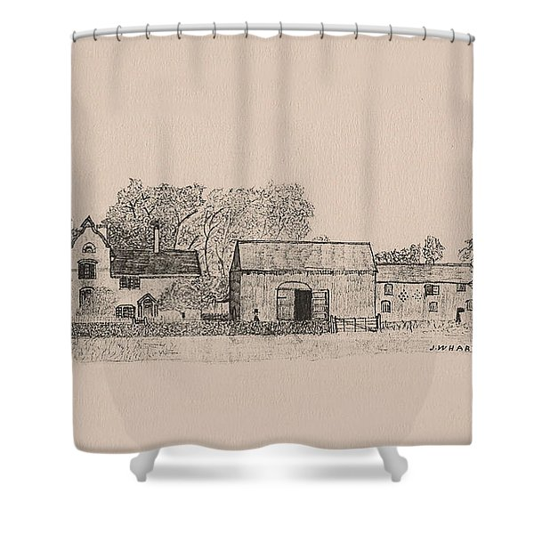 Farm Dwellings Shower Curtain