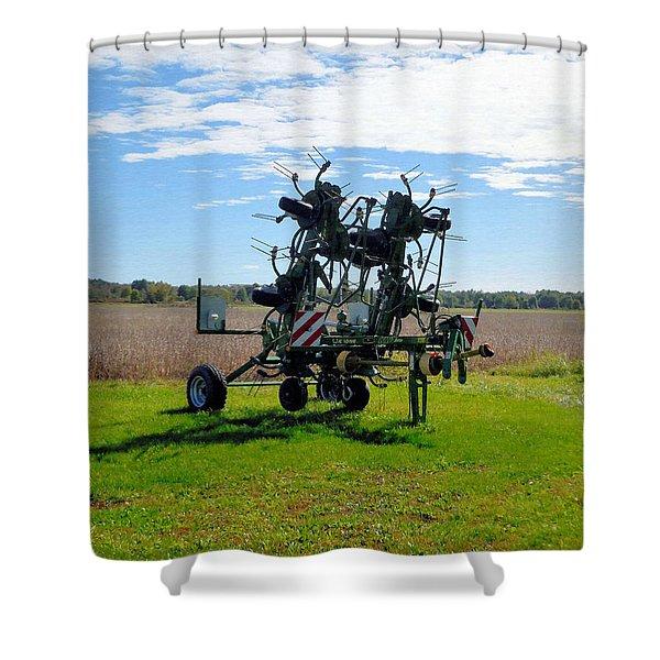 Farm Equipment 2 Shower Curtain