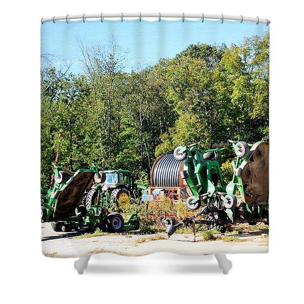 Farm Equipment 3 Shower Curtain