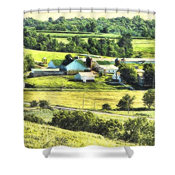 Farm Fresh Shower Curtain