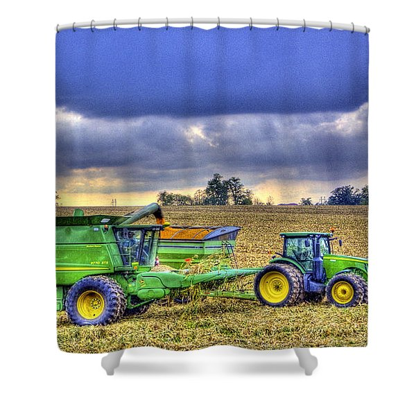 Farm Harvest 1 Shower Curtain