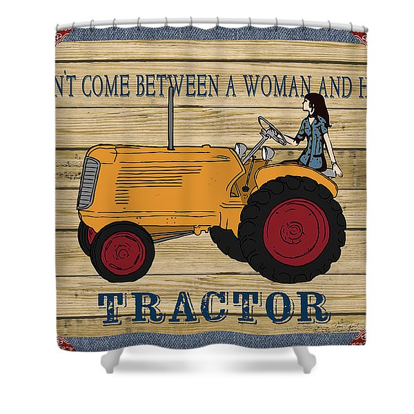 Farm Life-jp3229 Shower Curtain