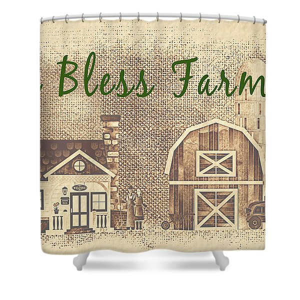 Farm Life-jp3233 Shower Curtain