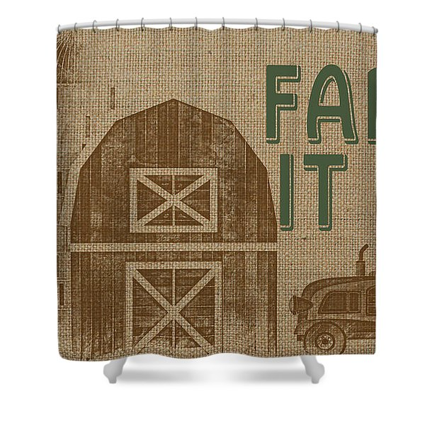 Farm Life-jp3235 Shower Curtain