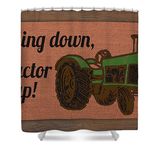 Farm Life-jp3240 Shower Curtain