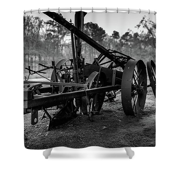 Farming Equipment Shower Curtain