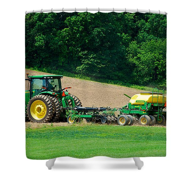 Farming The Field Shower Curtain