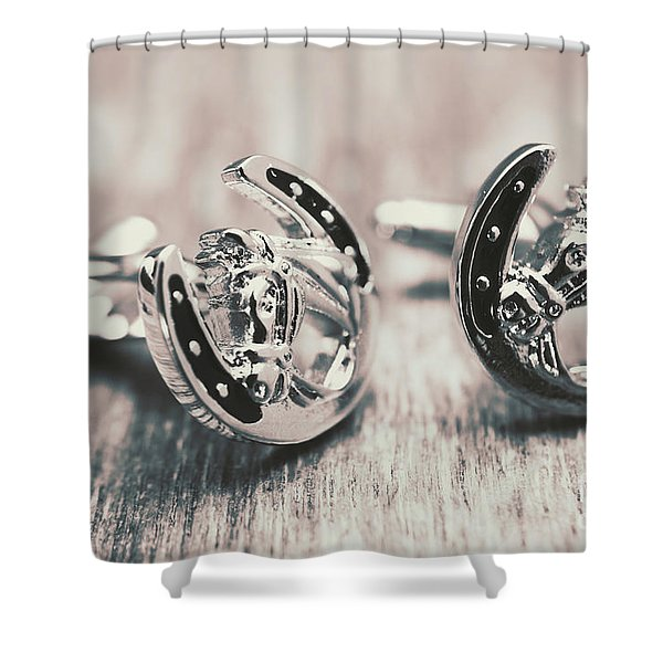 Fashion Links To The Melbourne Cup Shower Curtain