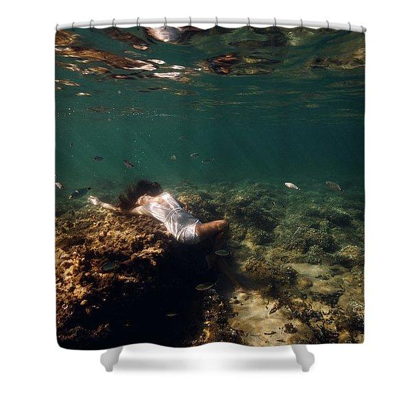 Fashion Mermaid Shower Curtain